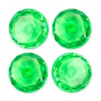 Gem Magnets- Green