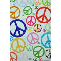 Removable Sticker Peace In Mini