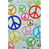 Removable Sticker Peace In Mini