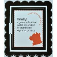 Mini Sticker Frame Queen Elizabeth