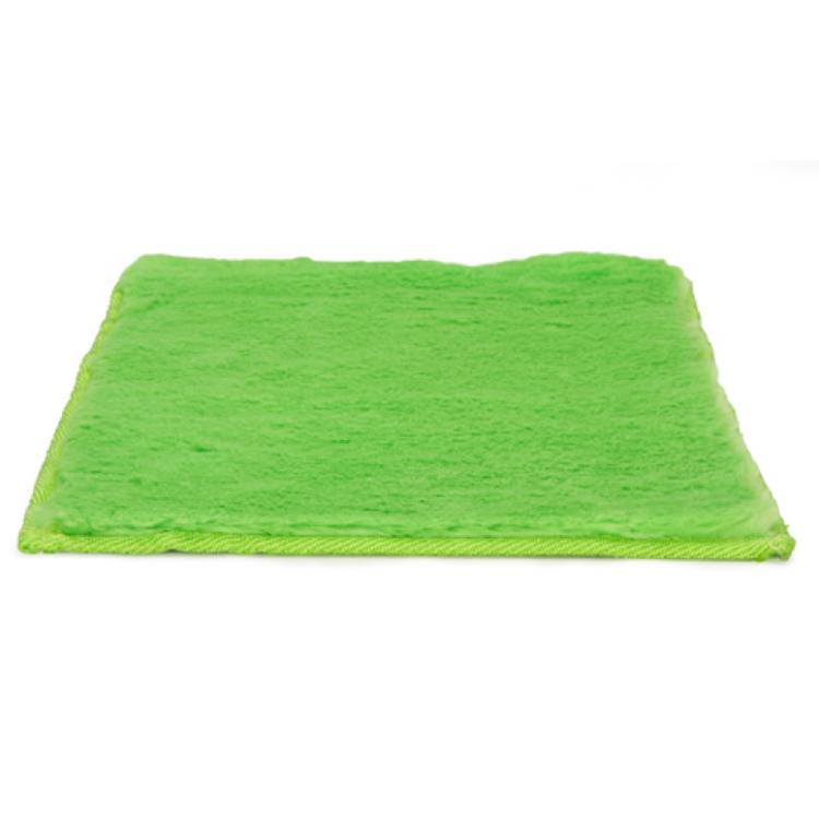 Mirrors, Rugs & Curtains : Locker Rug Fuzzy- Green