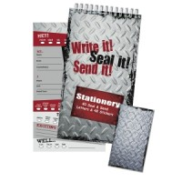 Seal and Send Steel Stationery