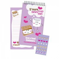 Seal and Send Smore Stationery