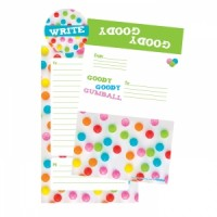 Foldover Cards Gumballs