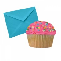 Notecards Cupcake Pink