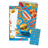 Seal and Send Junk Food Stationery