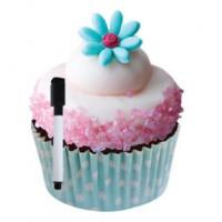 Dry Erase Cutout Candy Cupcake
