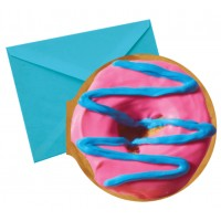 Notecards Donut Pink & Blue