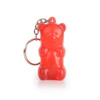 Gummy Bear Keychain Red