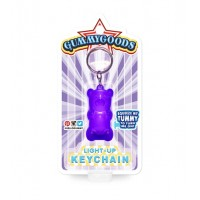 Gummy Bear Keychain Purple