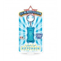 Gummy Bear Keychain Blue