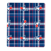 Blanket - Blue Jays Fleece Plaid