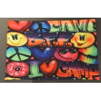 Pillowcase Airbrush I Love Camp
