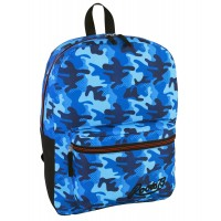 Roots Backpack Blue Camo