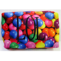Cosmetic/Toiletry Bag/Pencil Case- Small LOL Gumballs