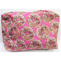 Cosmetic/Toiletry/Pencil Case- Large Doughnuts