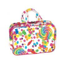 Cosmetic/Toiletry Bag Large Candy