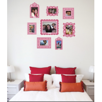 Sticker Frame Pink