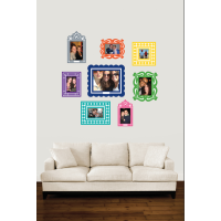 Sticker Frame Multi Colour