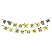 Sticker Banner Happy Birthday