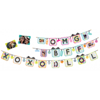 Sticker Banner LOL/OMG