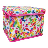 Collapsible Storage Bin- Candy