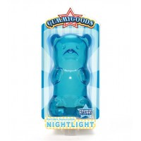 Gummy Bear Night Light- Blue