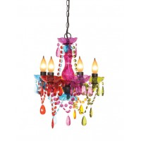 5-Lite Mini Multi Chandelier