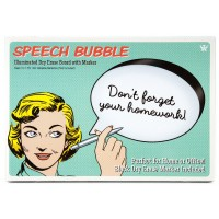 Dry Erase Speech Bubble
