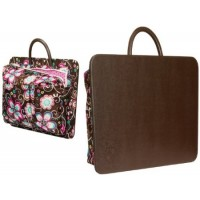 Faux Leather Lap Desk & Laptop Carrier