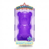 Gummy Bear Night Light Purple
