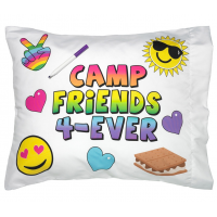 Pillowcase Autograph Camp Friends