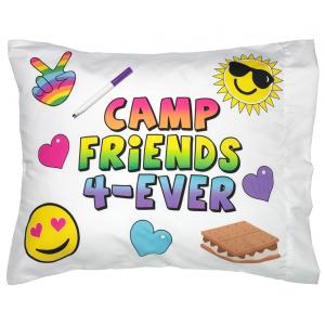 Pillowcase Autograph Camp Friends