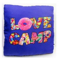 Autograph Pillow- Love Camp Candy