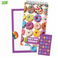 Seal and Send Donuts Stationery