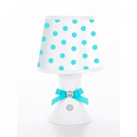 Desk Lamp- Aqua Dot
