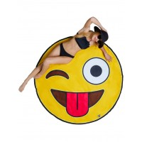 Towel Oversize Crazy Emoji
