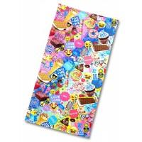 Towel- Pow Emoji & Sweets